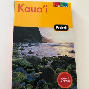 Fodor's Kaua'i 3rd Edition w/ Pull-out Map